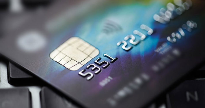 Close Up Image of a Credit or Debit Card From Merchant Cash Advance