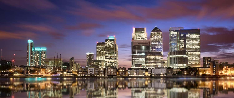 Image of London Skyline at Night