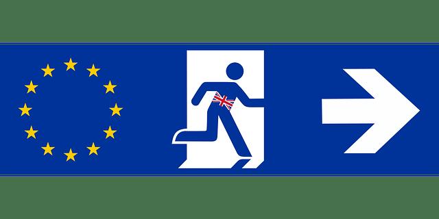 Image of UK leaving EU