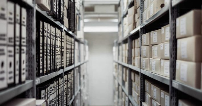 image of stock room