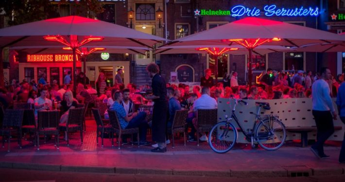 image of a pub in Amsterdam