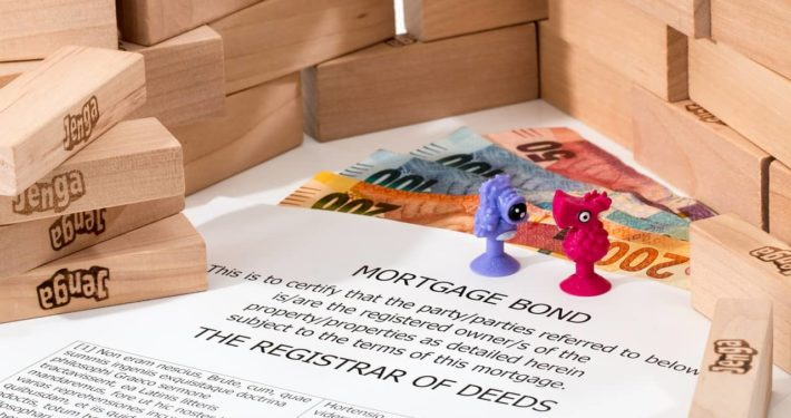 image of commercial mortgage papers