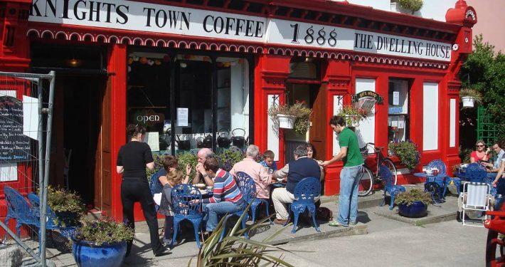 cafe in summer sun
